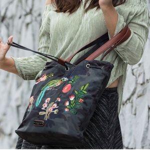 Nicole Lee Bags - ✤ Krissy Camouflage Embroidery Bucket Bag